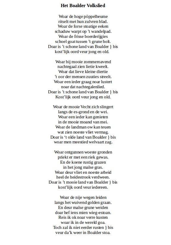 Baalders volkslied 2